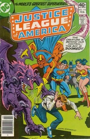 Cover for Justice League of America #175