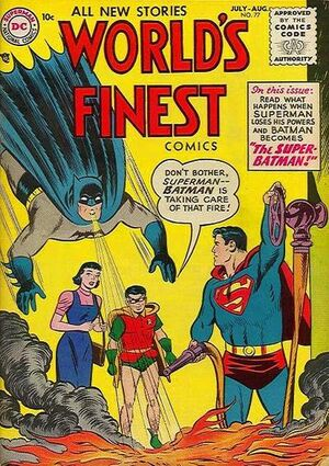 Cover for World's Finest #77