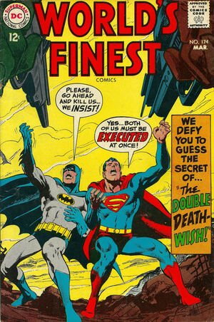 Cover for World&#39;s Finest #174