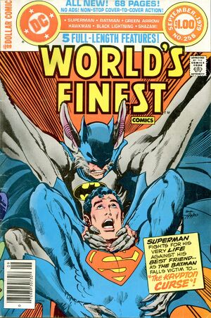 Cover for World&#39;s Finest #258