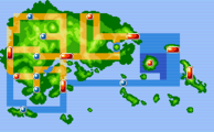 Hoenn mapa juegos