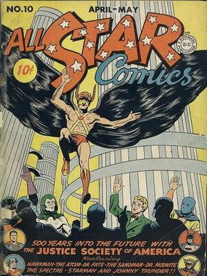 Cover for All-Star Comics #10