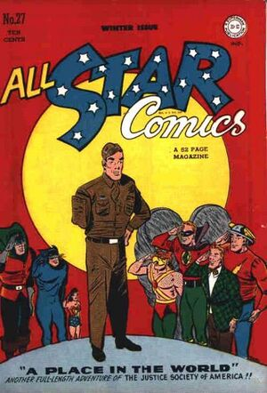 Cover for All-Star Comics #27
