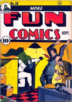 Cover for More Fun Comics #59