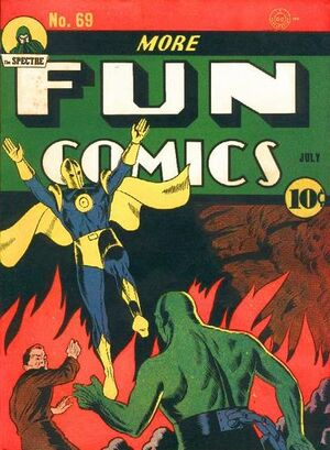 Cover for More Fun Comics #69