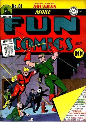 Cover for More Fun Comics #81