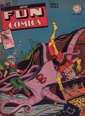 Cover for More Fun Comics #83