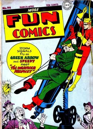 Cover for More Fun Comics #96