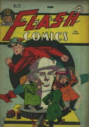 Cover for Flash Comics #72