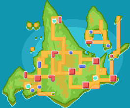 Sinnoh mapa juegos