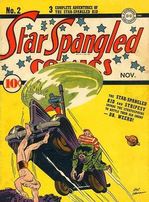 Cover for Star-Spangled Comics #2