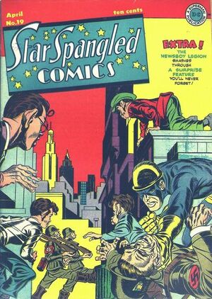 Cover for Star-Spangled Comics #19