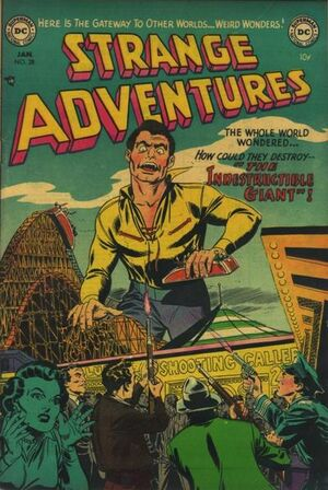 Cover for Strange Adventures #28