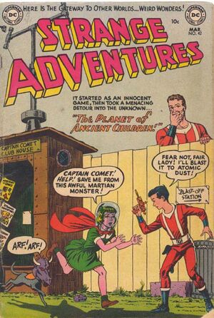 Cover for Strange Adventures #42