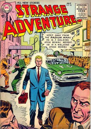Cover for Strange Adventures #58