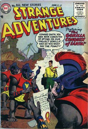 Cover for Strange Adventures #69