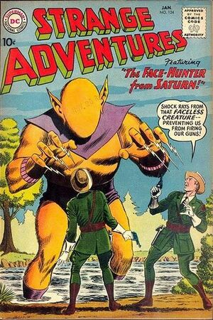 Cover for Strange Adventures #124