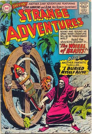 Cover for Strange Adventures #179