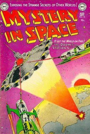 Cover for Mystery in Space #15