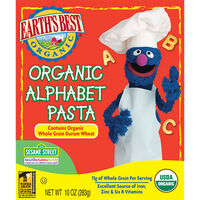 Organic Alphabet Pasta