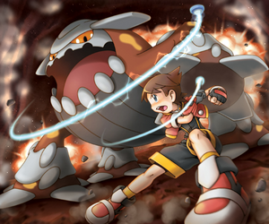Primo capturando a Heatran