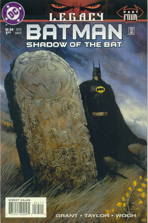 Cover for Batman: Shadow of the Bat #54