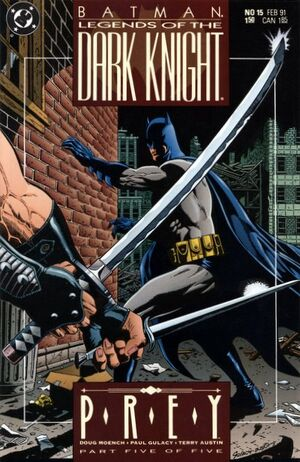 Cubierta para Batman: Legends of the Dark Knight # 15 (1991)