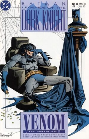 Cover for Batman: Legends of the Dark Knight #18