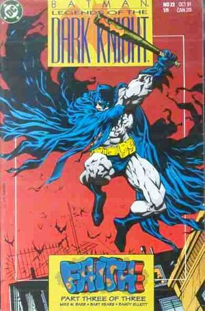 Cubierta para Batman: Legends of the Dark Knight # 23 (1991)