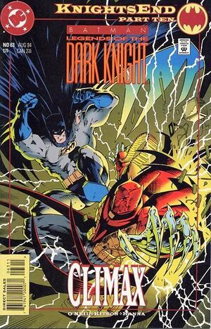 Cover for Batman: Legends of the Dark Knight #63