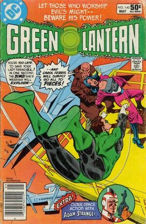 Cover for Green Lantern #140