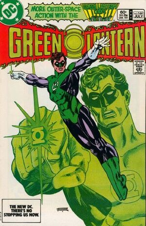 Cover for Green Lantern #166