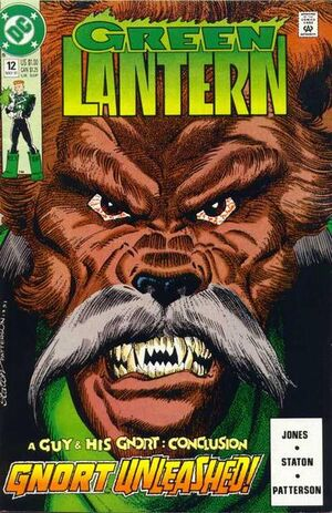 Cover for Green Lantern #12