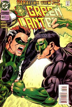 Cover for Green Lantern #63 (1995)