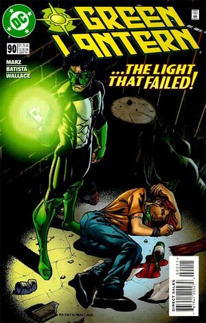 Cover for Green Lantern #90