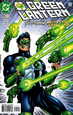 Cover for Green Lantern #115