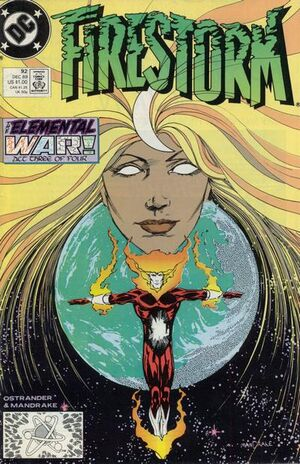 Cover for Firestorm #92