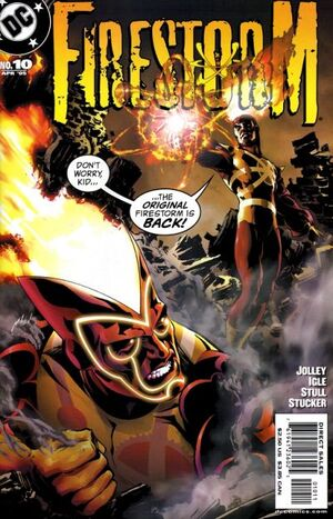 Cover for Firestorm #10