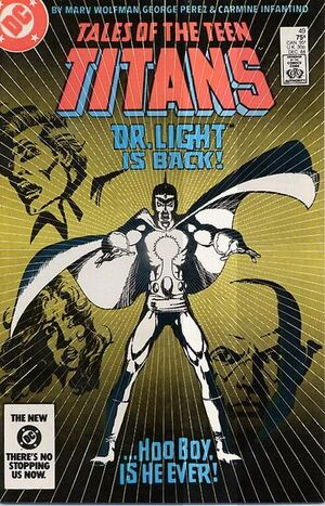 Cover for Tales of the Teen Titans #49