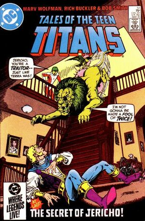 Cover for Tales of the Teen Titans #51