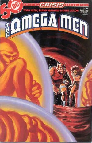 Cover for Omega Men #31