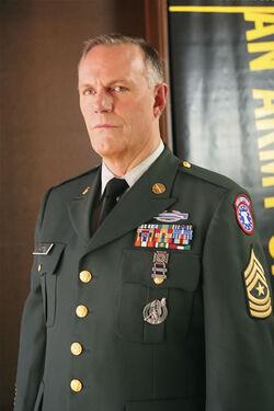 Sergeant Major Sam Austen