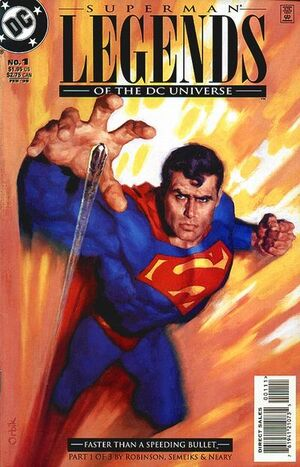 Cover for Legends of the DC Universe #1