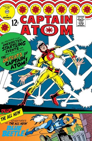 Cover for Captain Atom (Charlton) #83
