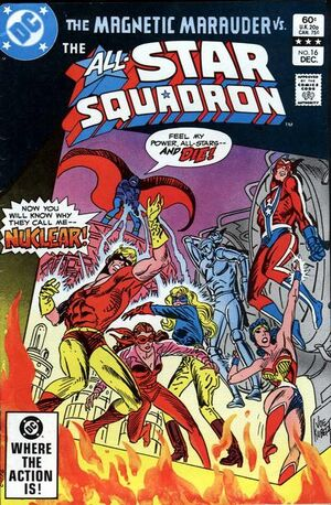 Cover for All-Star Squadron #16