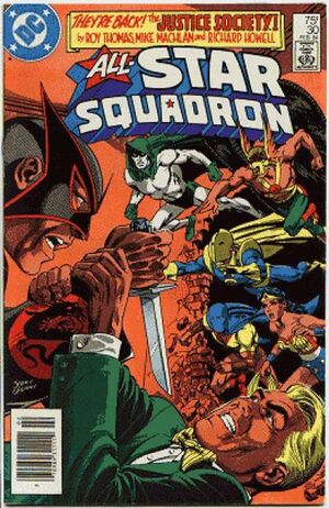 Cover for All-Star Squadron #30