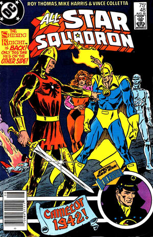 Cover for All-Star Squadron #48