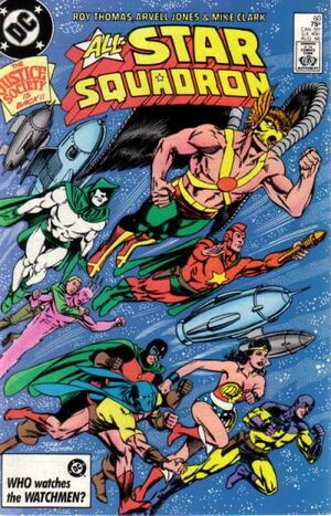 Cover for All-Star Squadron #60
