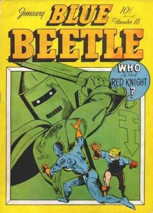 Cover for Blue Beetle #18