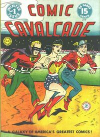 Comic Cavalcade Vol 1 1